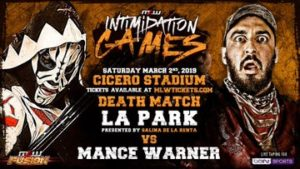 "MLW: LA Park en death match en ""Intimidation Games"" 12"