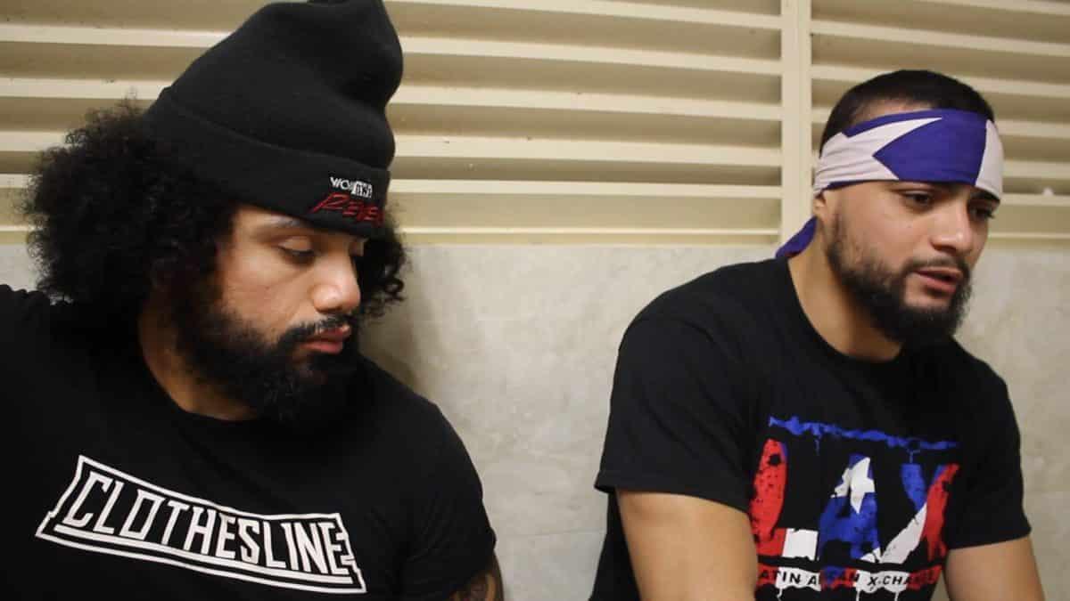 ¿WWE o AEW? LAX dan gran pista acerca de su futuro 1