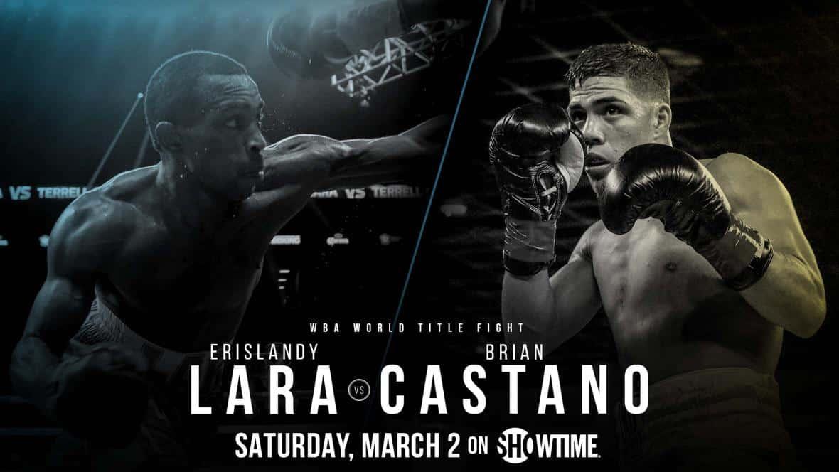 Castaño quiere probarse ante Lara el 2 de marzo 1