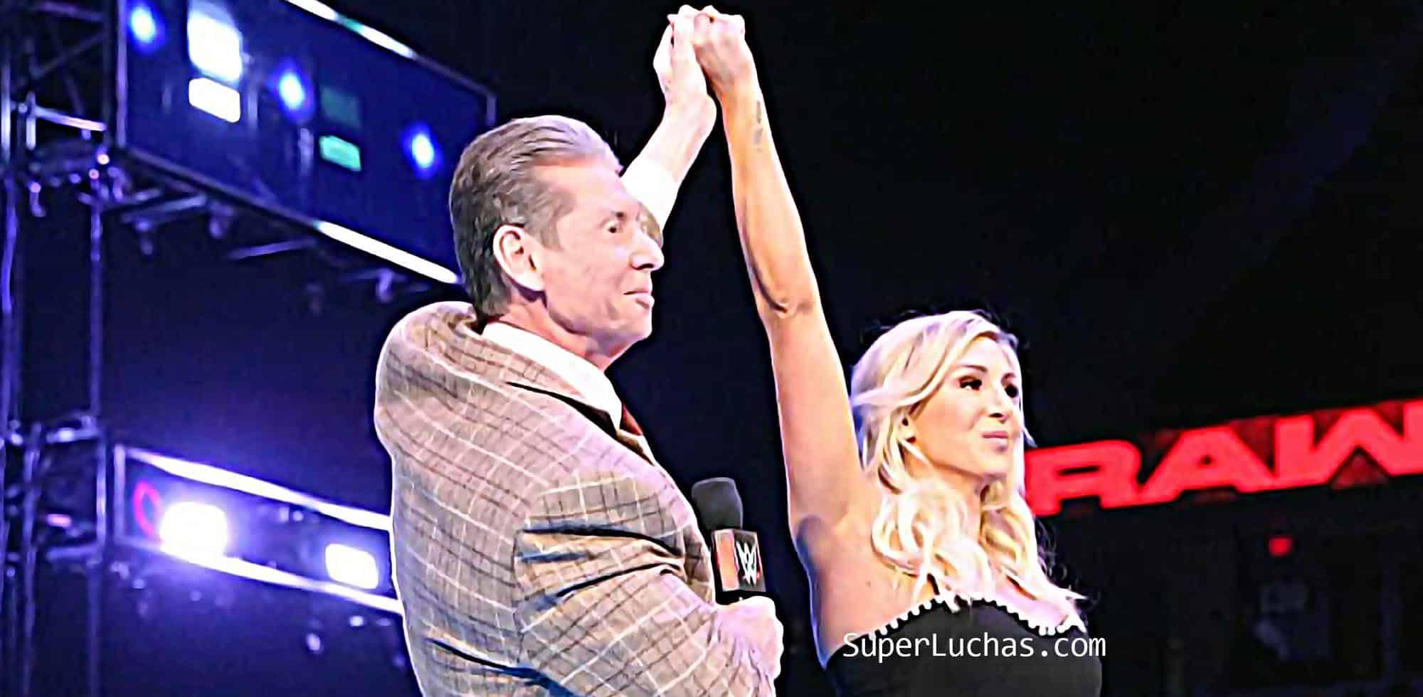 Vince McMahon Charlotte Flair