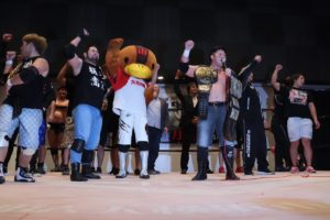 "BJW: ""Yokohama Pro Wrestling"" Defensa del título de tercias 40"