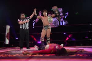 "DDT: ""Judgement 2019"" Konosuke Takeshita y HARASHIMA, campeones 29"