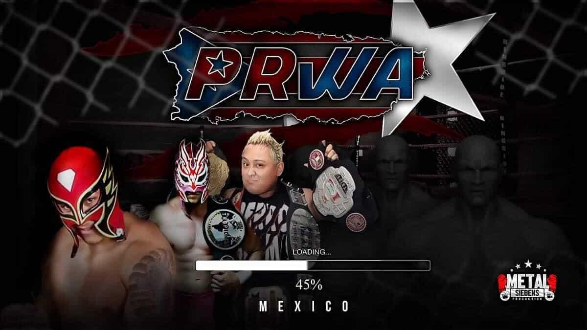 Regresa la empresa PRWA - Team México vs Team Puerto Rico 2
