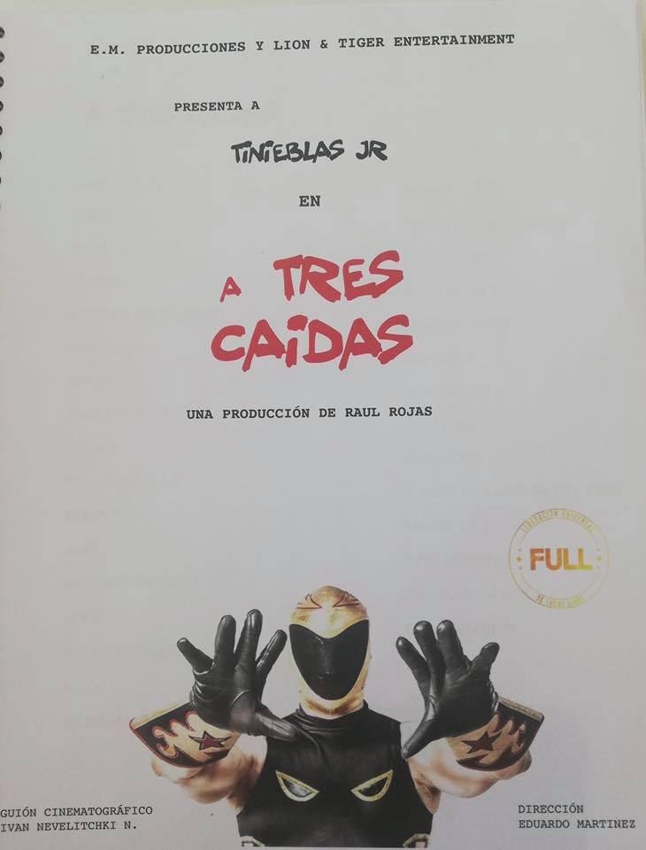"""""""A tres caídas"""", la nueva película de Tinieblas Jr. 2"""