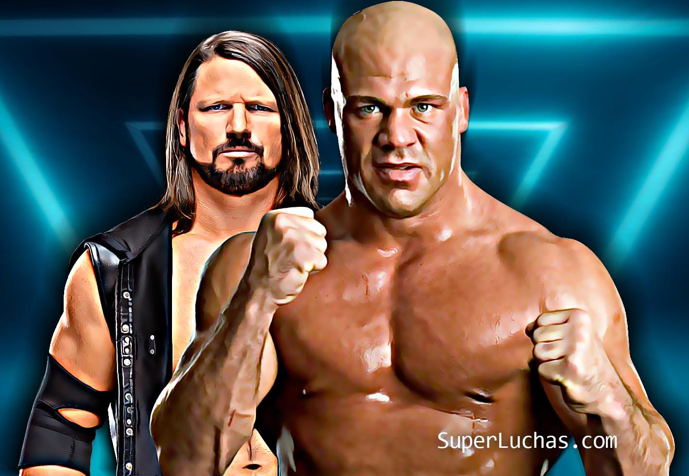 AJ Styles Kurt Angle