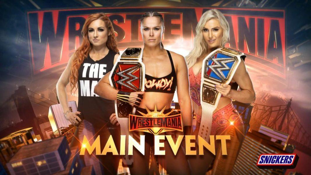 WWE: Wrestlemania 35 presentará el primer evento principal con mujeres | Deportes