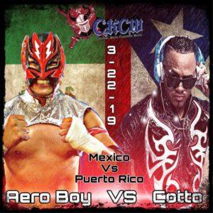 Angel Cotto lanza amenaza sobre Aeroboy 8