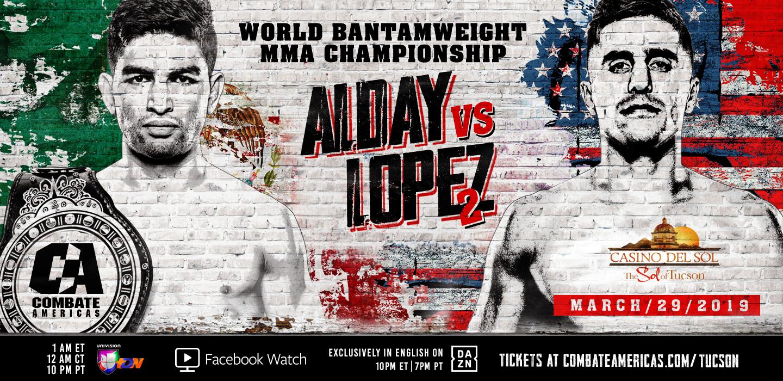 Todo listo para Combate Américas: Alday vs. López 2 14