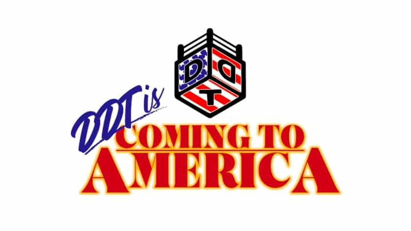 """DDT: Cartel completo para """"DDT is Coming to America"""" 30"""