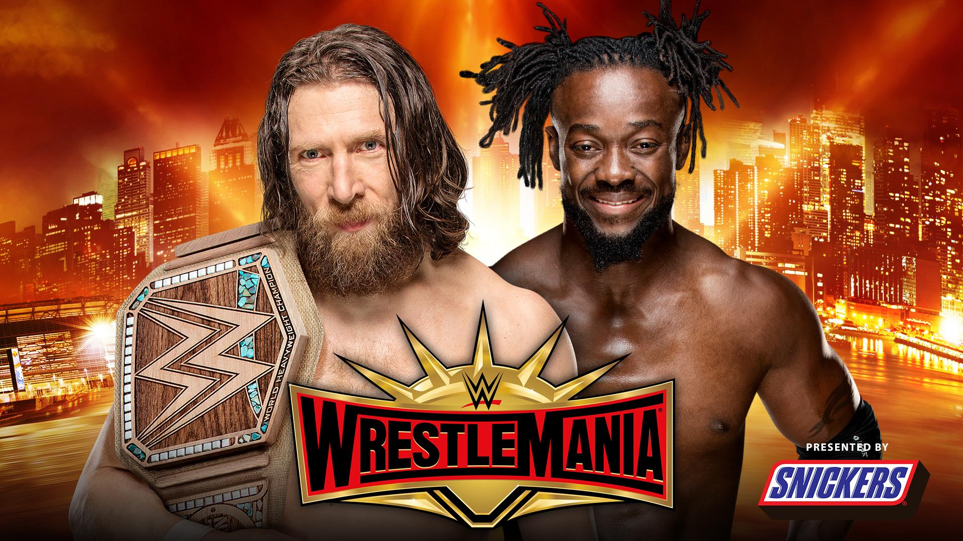 Daniel Bryan vs. Kofi Kingston por el Campeonato WWE en WWE WrestleMania 35 (07/04/2019) / WWE