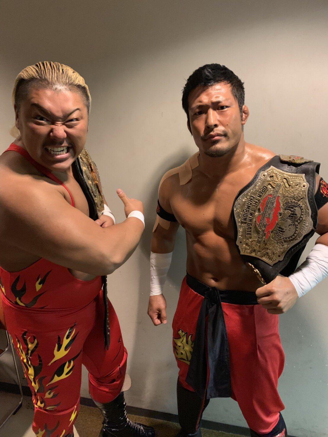 """Dragon Gate: """"Champion Gate in Osaka"""" Cuatro títulos en juego 4"""