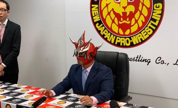 "Jushin ""Thunder"" Liger anuncia su retiro de la lucha libre (07/03/2019) / NJPW - New Japan Pro Wrestling"