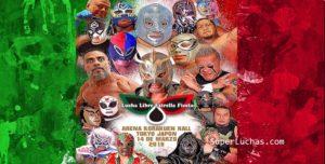 """Cartel """"Lucha Libre Estrella Fiesta"""" Homenaje a la lucha mexicana 10"""