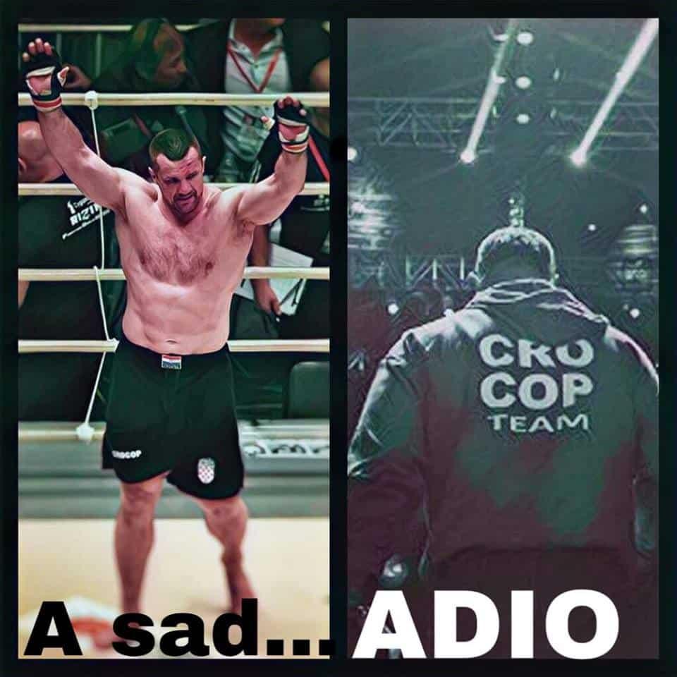 Mirko Cro Cop anunció su retiro de las MMA; sufrió un derrame cerebral 1