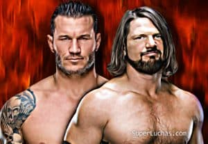 AJ Styles imita a Randy Orton