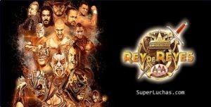 """AAA: Cartel """"Rey de Reyes 2019"""" Lucha Bros. vs. Mercenarios 4"""