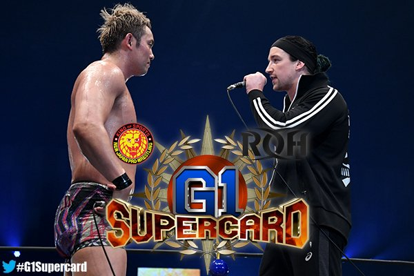 NJPW/RoH: Cartel completo G1 Supercard - White vs. Okada, la estelar 2