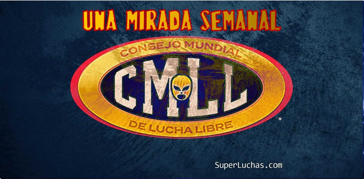 CMLL: Una mirada semanal al CMLL (Del 14 al 20 de marzo de 2019) 1