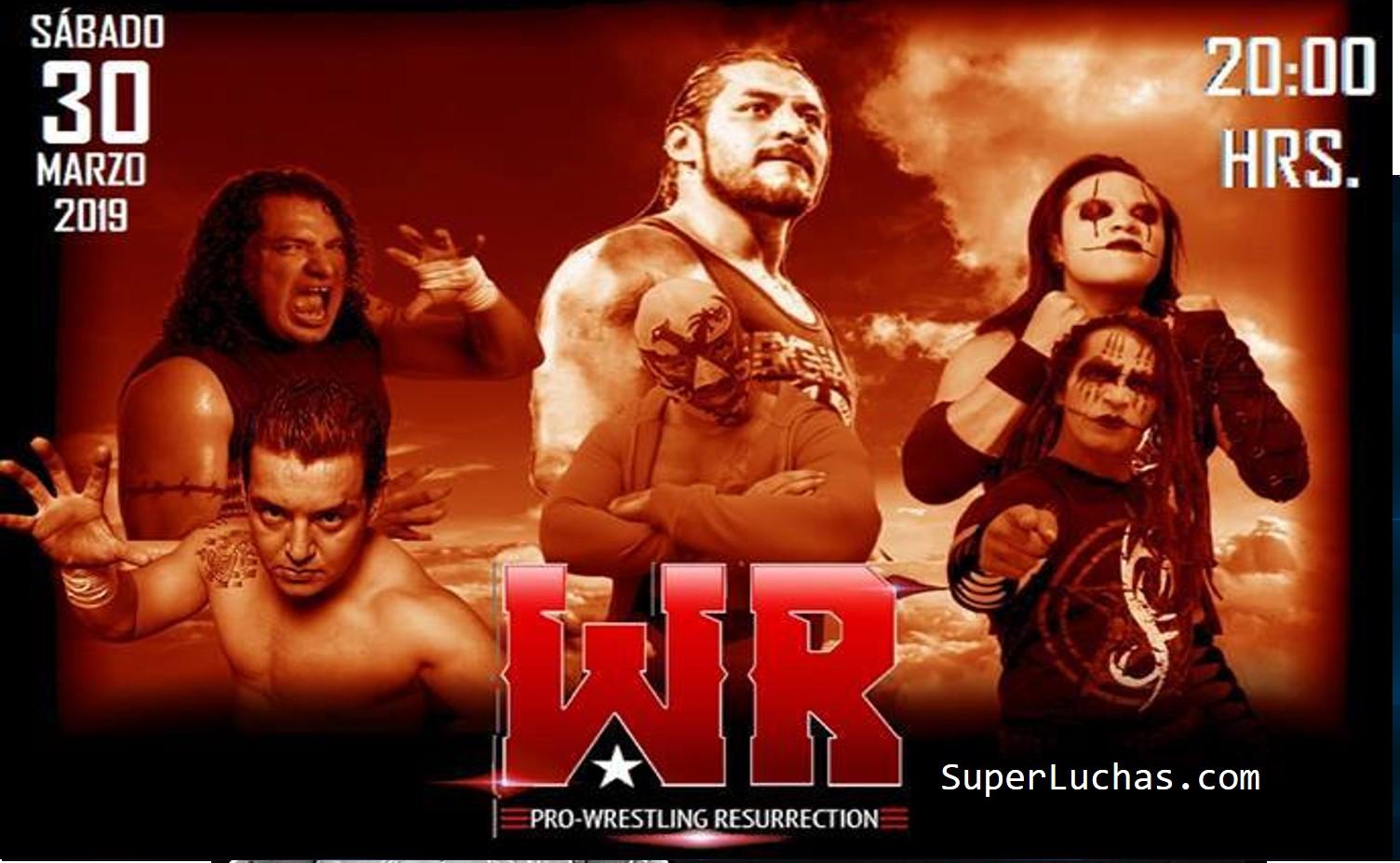 Pro Wrestling Resurrection: Es oficial, Hijo del Fantasma en la estelar 18