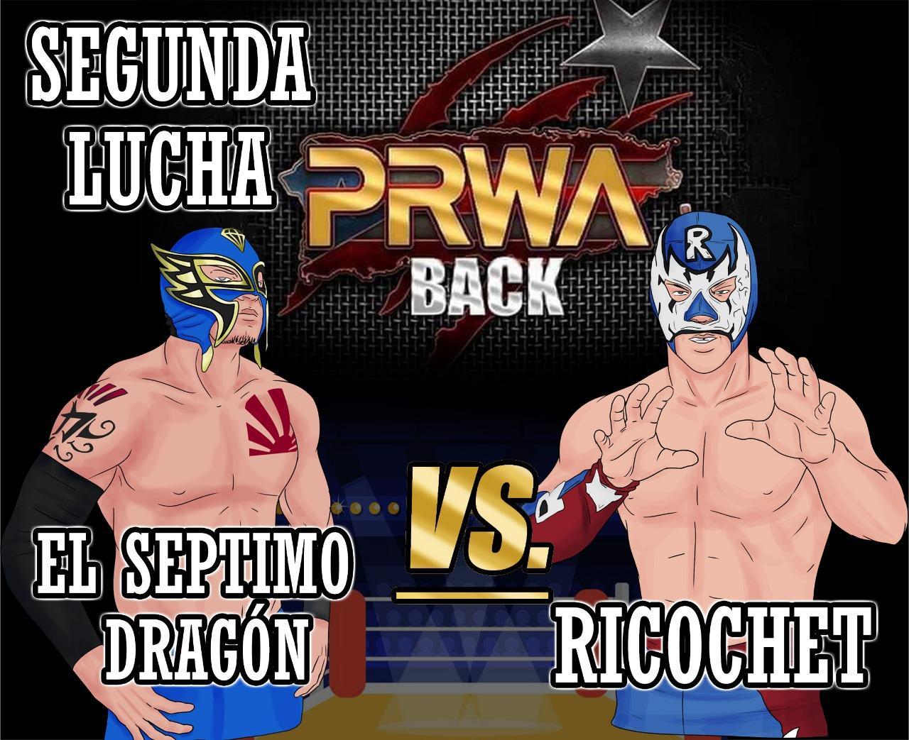 Cartel final PRWA BACK México vs Puerto Rico - Team México de visita 6