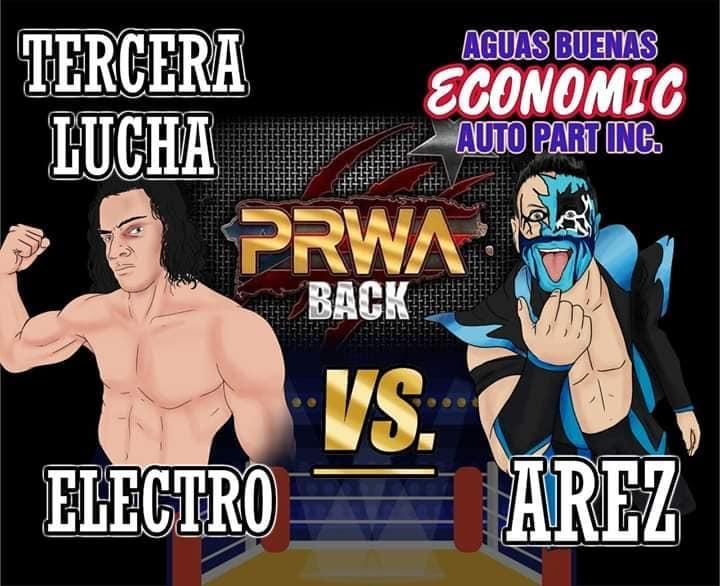 Cartel final PRWA BACK México vs Puerto Rico - Team México de visita 7