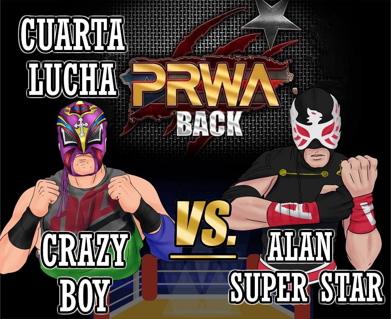 Cartel final PRWA BACK México vs Puerto Rico - Team México de visita 8