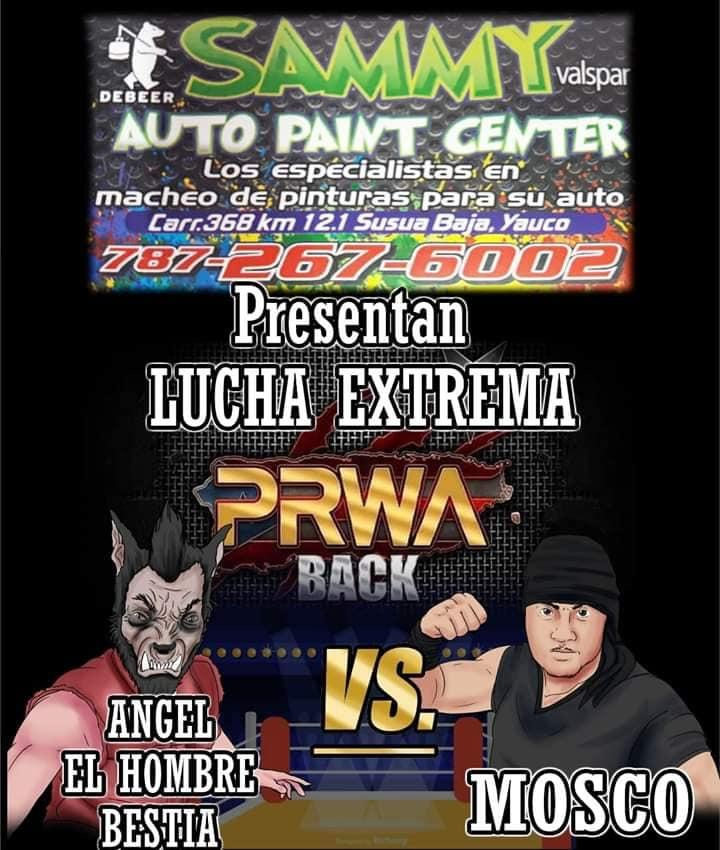 Cartel final PRWA BACK México vs Puerto Rico - Team México de visita 9