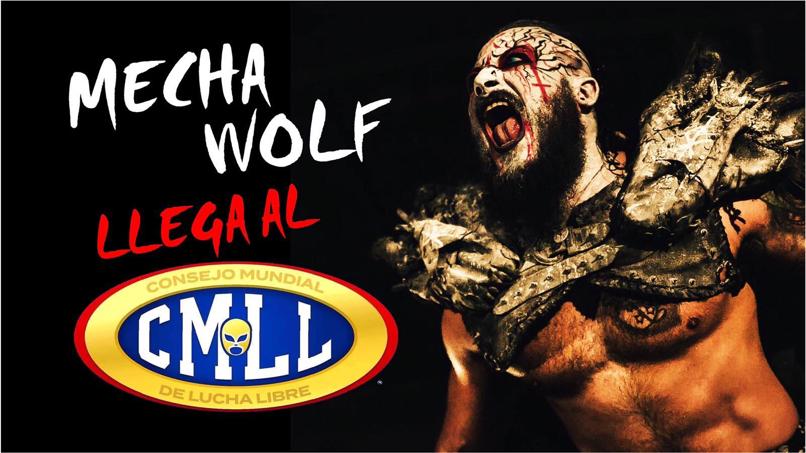 ¡Mecha Wolf llega al CMLL! 32