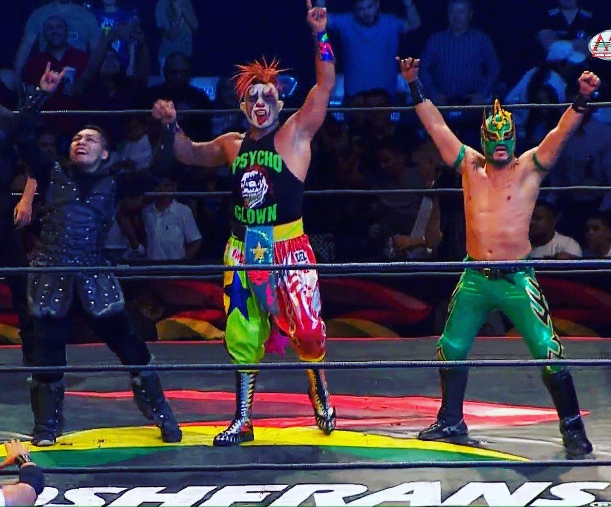 AAA: Conquista Total en Nogales, Los Mercenarios tropiezan 1