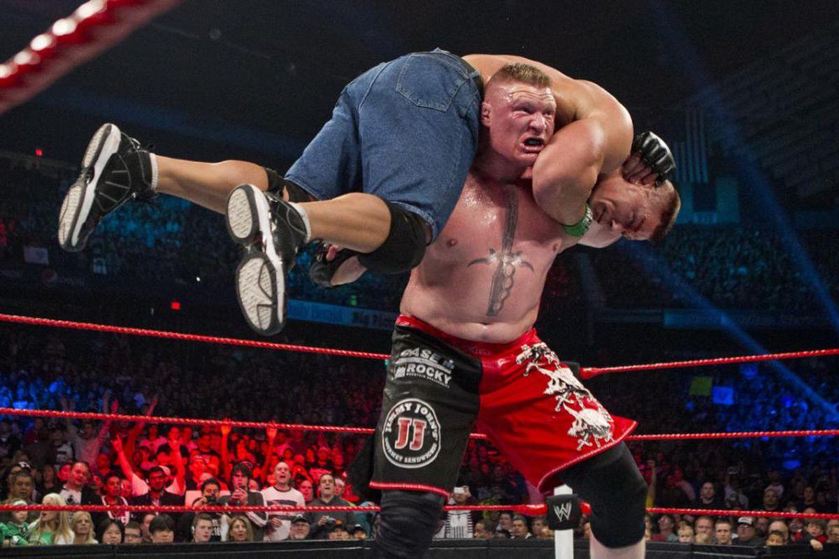 El interesante rival que desafía a Brock Lesnar para WrestleMania 1
