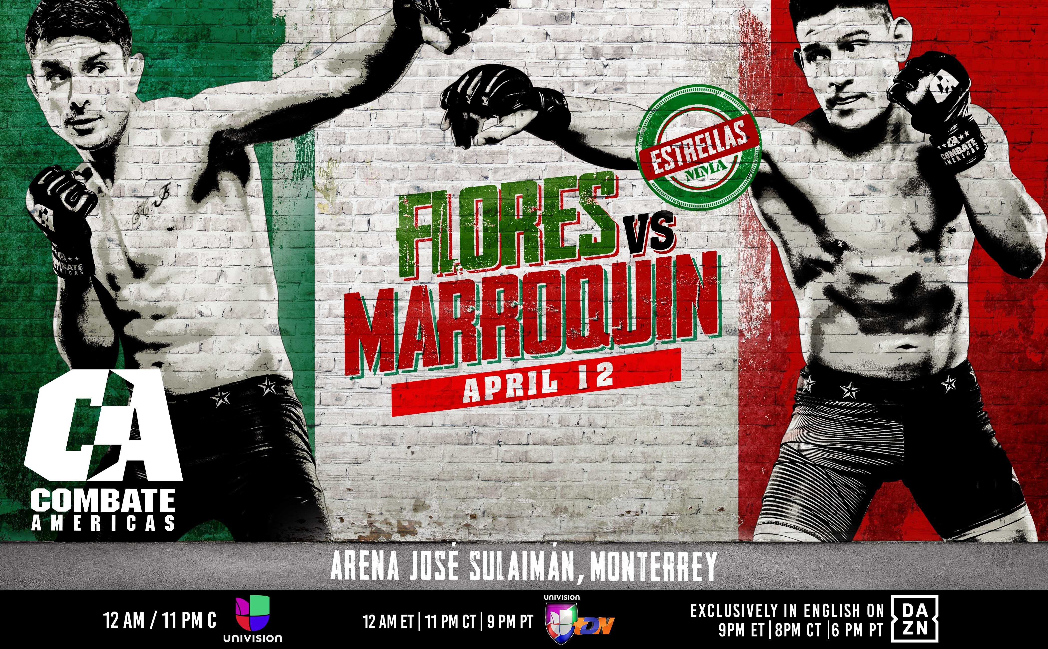 Todo listo para Combate Estrellas: Marroquin vs. Flores 13
