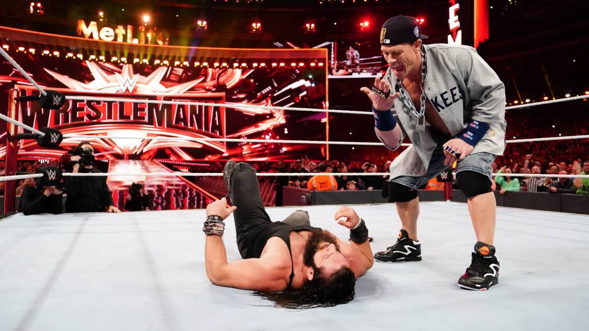 John Cena en WrestleMania