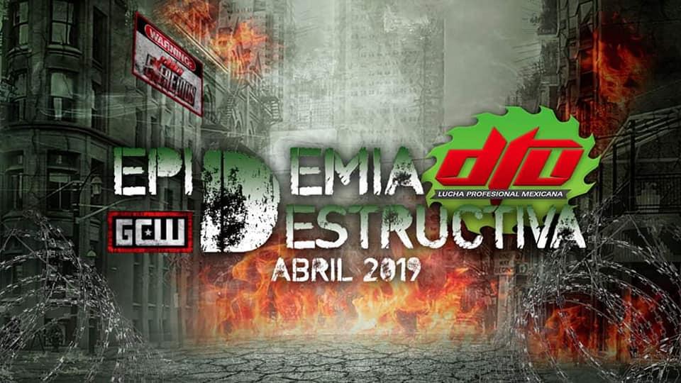 """DTU: La """"Epidemia Destructiva"""" está cerca, carteles de la gira 4"""