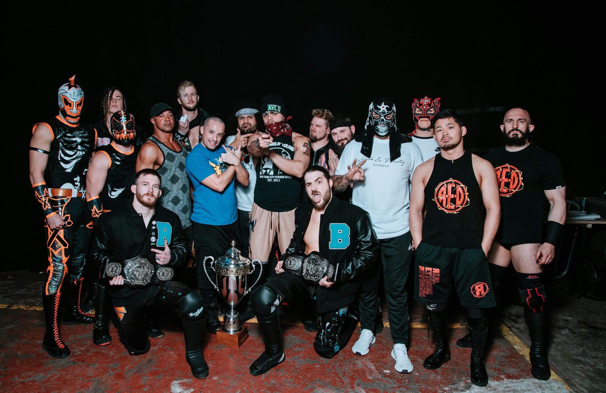 FCP: Lucha Brothers ganan torneo de parejas en Inglaterra 2