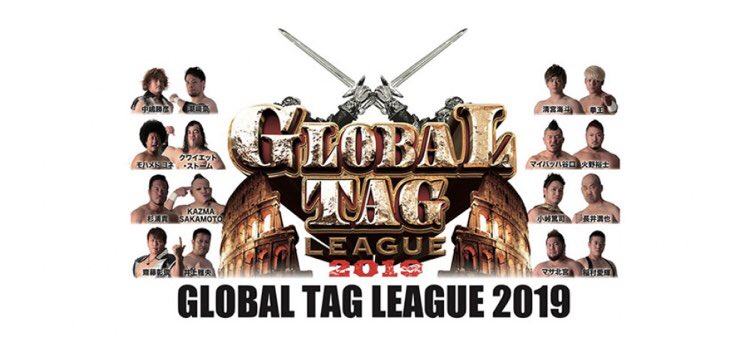 "NOAH: Comenzó el torneo ""Global Tag League 2019"" 9"
