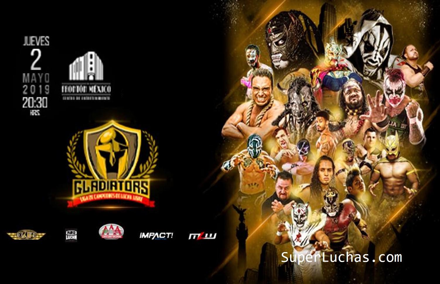 Gladiators: Liga de la Campeones, se disputarán 5 títulos 17
