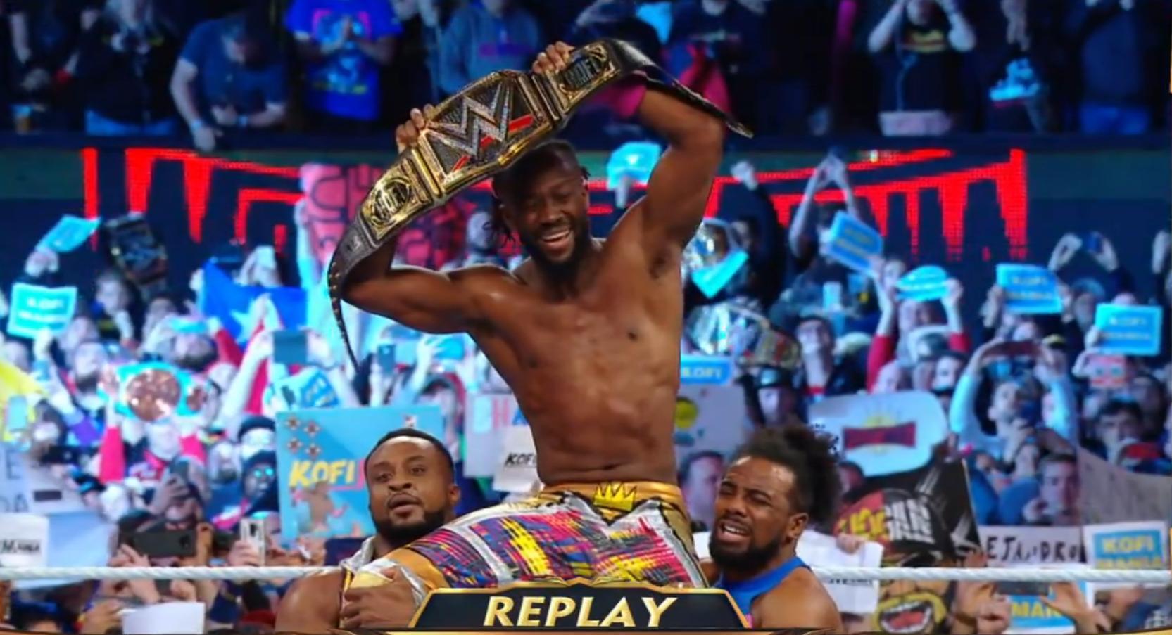 Kofi Kingston se corona NUEVO Campeón WWE, por primera vez en 11 años, tras vencer a Daniel Bryan en WWE WrestleMania 35 (07/04/2019) / WWE