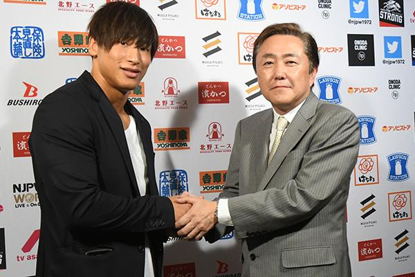 Kota Ibushi firma contrato exclusivo con NJPW 8