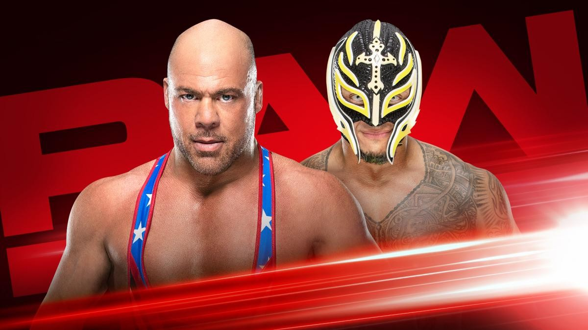 Kurt Angle vs. Rey Mysterio cancelada para WWE Monday Night Raw (01/04/2019) / WWE