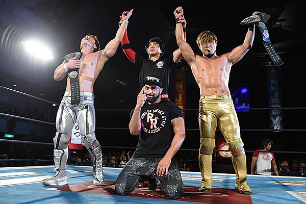 """NJPW: """"Road to Wrestling Dontaku"""" Dos títulos en juego 15"""
