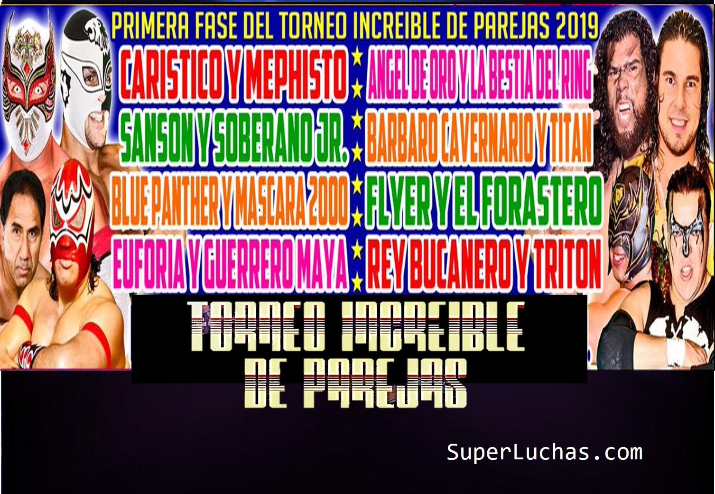 CMLL: Comienza el Torneo de Parejas Increíbles 2019 83