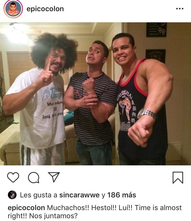 Los Colón, incluyendo a Carlito, ¿se juntarán próximamente en WWE? 2