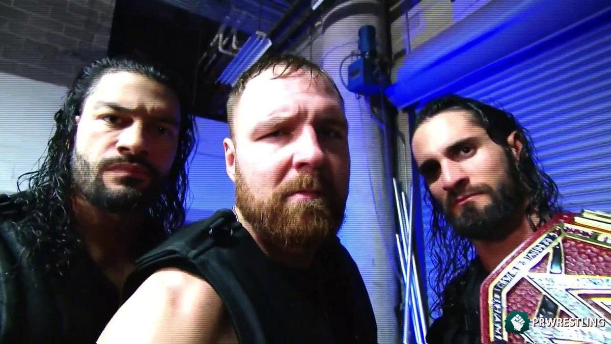 Contacto entre Moxley y sus ex compañeros de The Shield