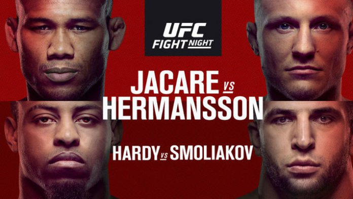 Resultados UFC Fort Lauderdale: Jack Hermansson domó al Jacare 5
