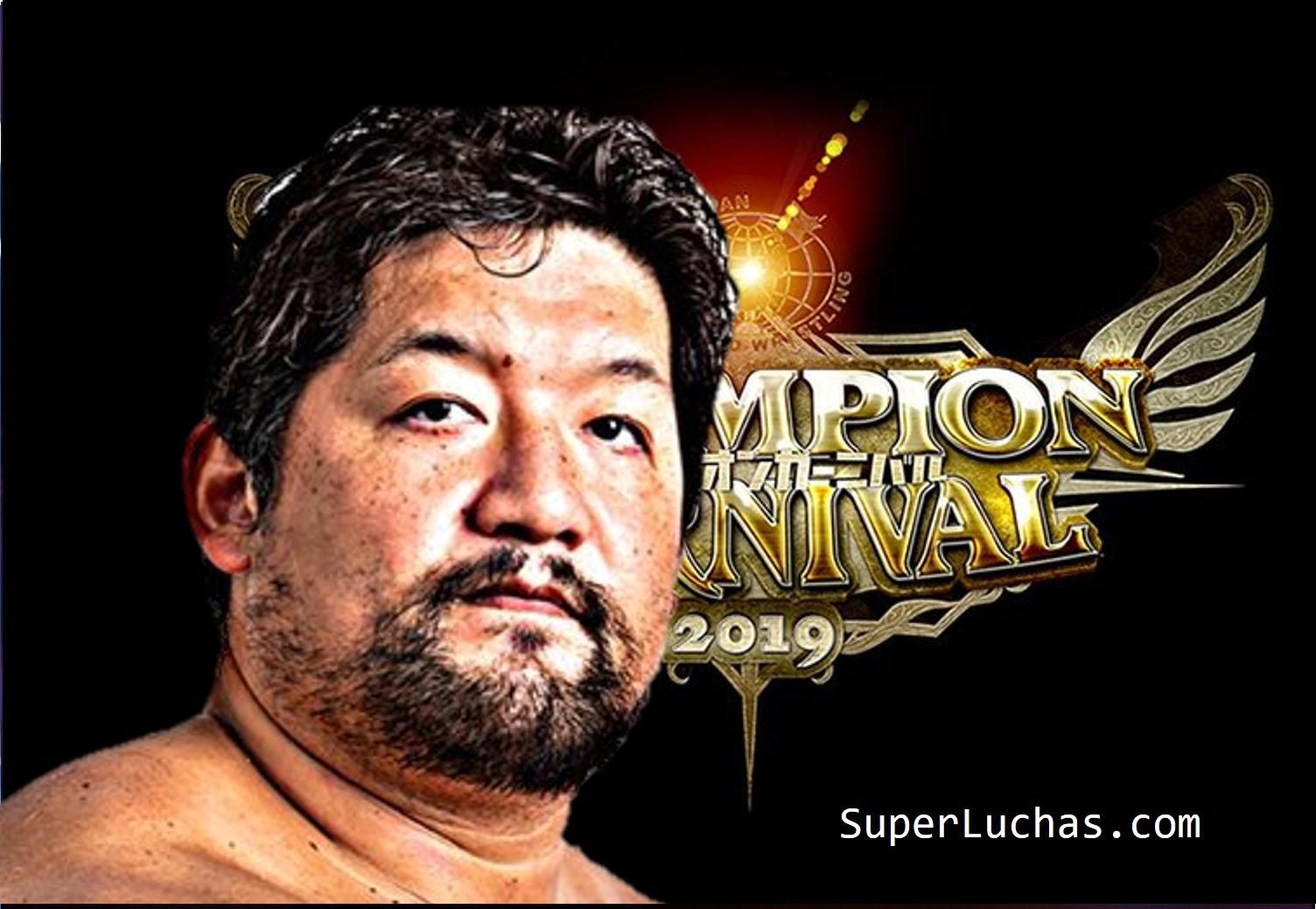 "AJPW: ""Champion Carnival 2019"" Días 7 y 8 Ishikawa a la cima 1"