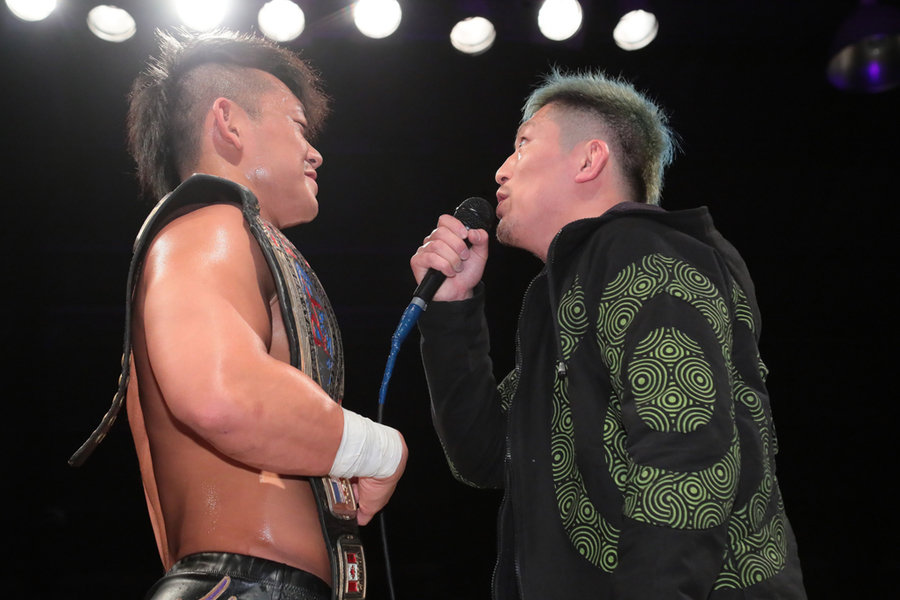 "DDT: ""April Fool 2019 in Shinkiba"" Oishi es retador de Endo 1"