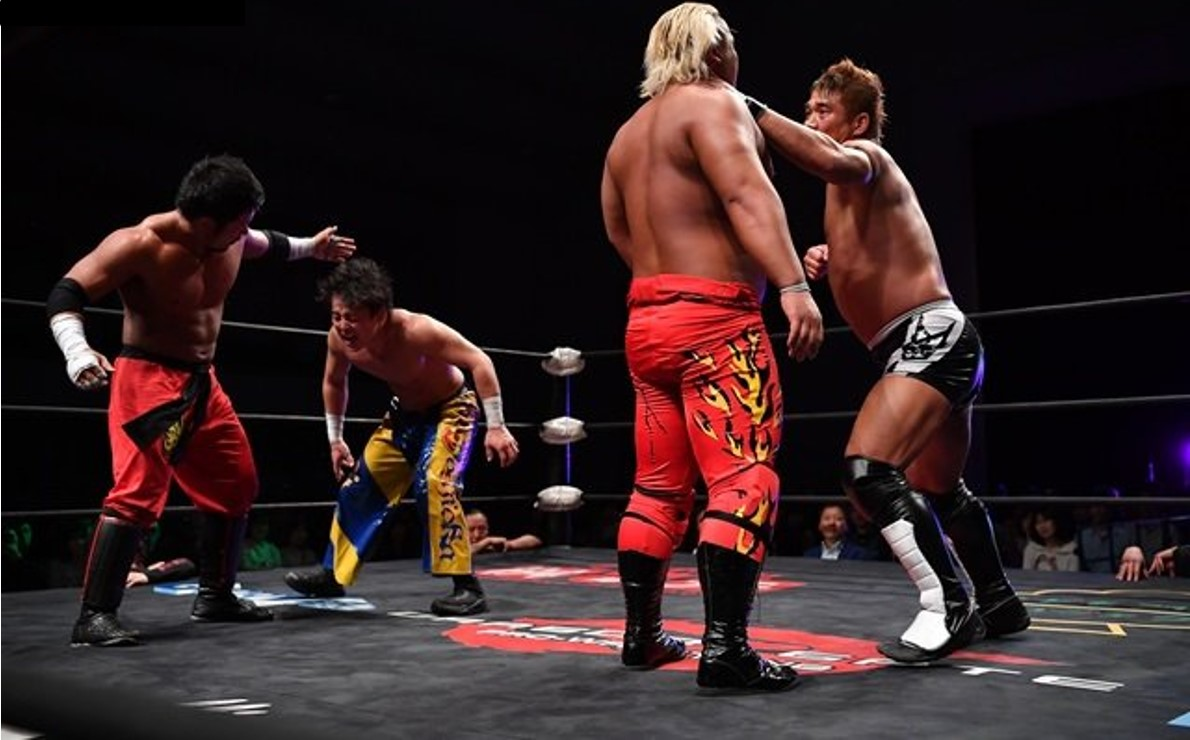 "Dragon Gate: ""Glorious Gate 2019"" Defensa del título de parejas 1"