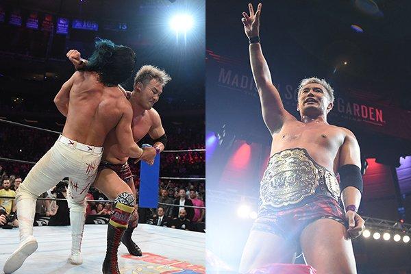 """NJPW/ROH: """"G1 Supercard"""" Grandiosa función en el MSG, Okada se corona 1"""