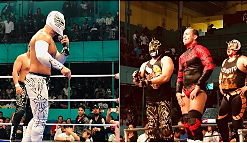 CMLL: En Puebla, duelo de reinas, de apuestas y relevos increíbles 72