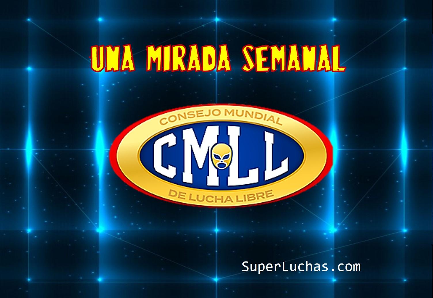 CMLL: Una mirada semanal al CMLL (Del 28 de marzo al 3 de abril de 2019) 1